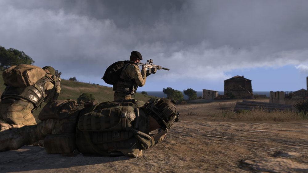 Arma 3 с тактикой