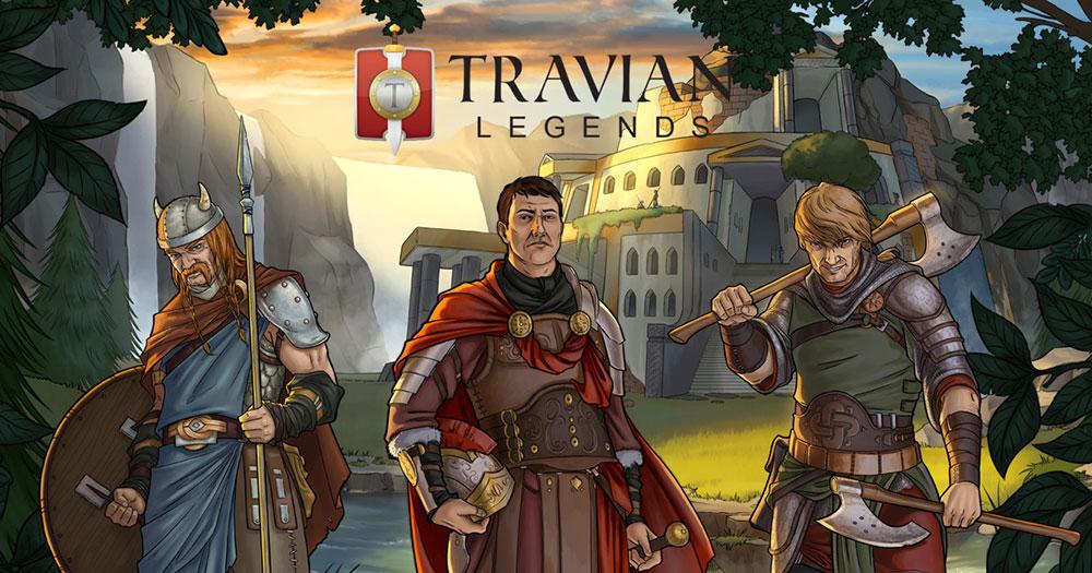 браузерная игра Travian Legends