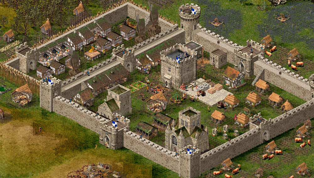 игра Stronghold HD