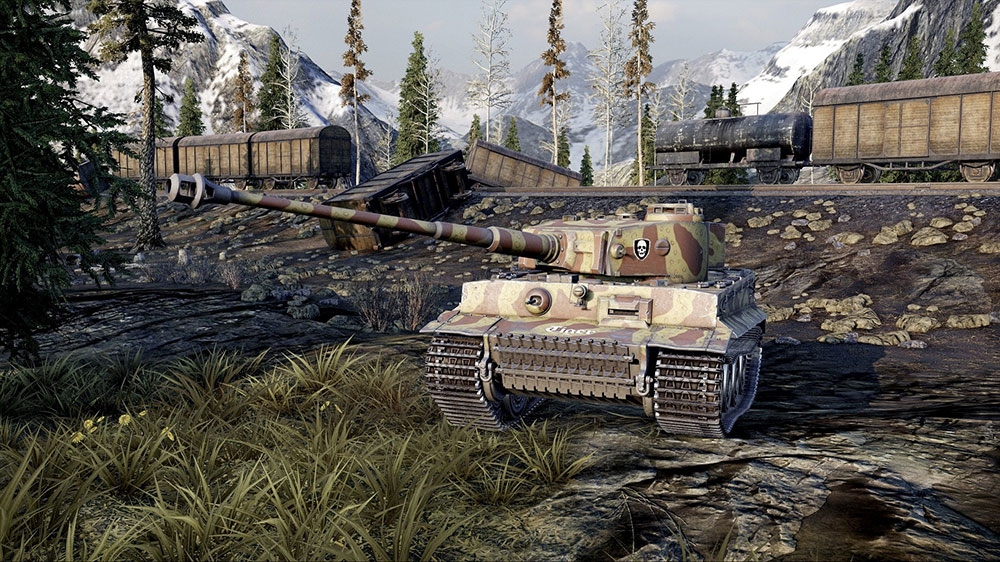 World of Tanks с танкистами