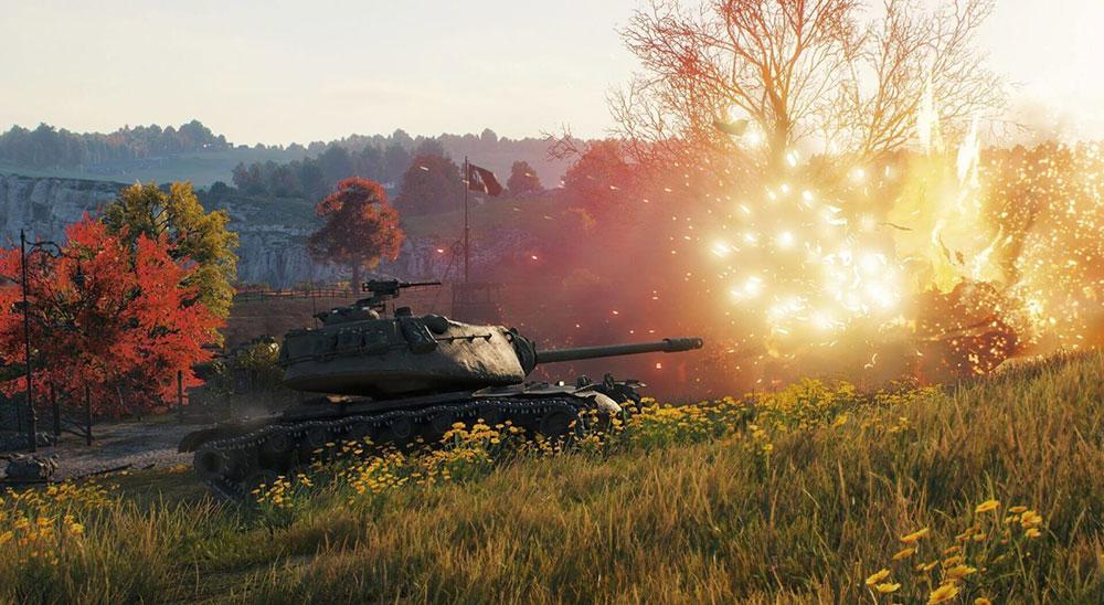 World of tanks игра на пкшку