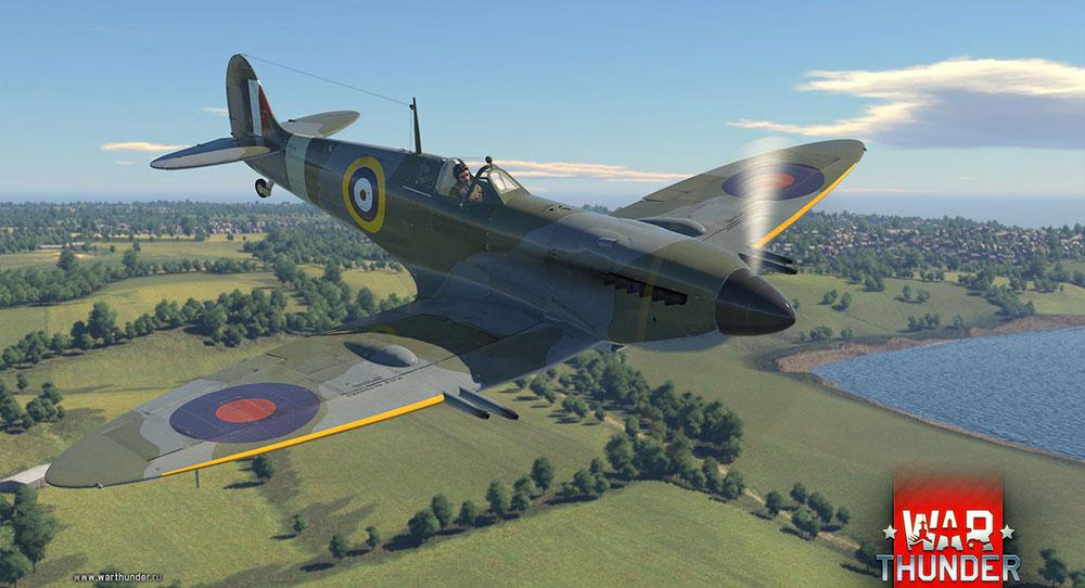 War Thunder самолетик