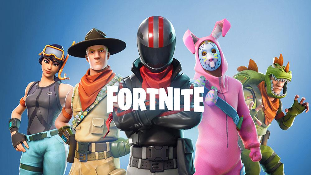 Fortnite онлайн игра