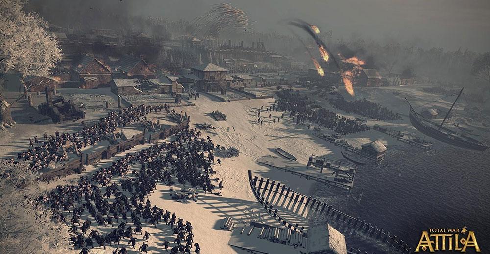 Total War: ATTILA стратегия