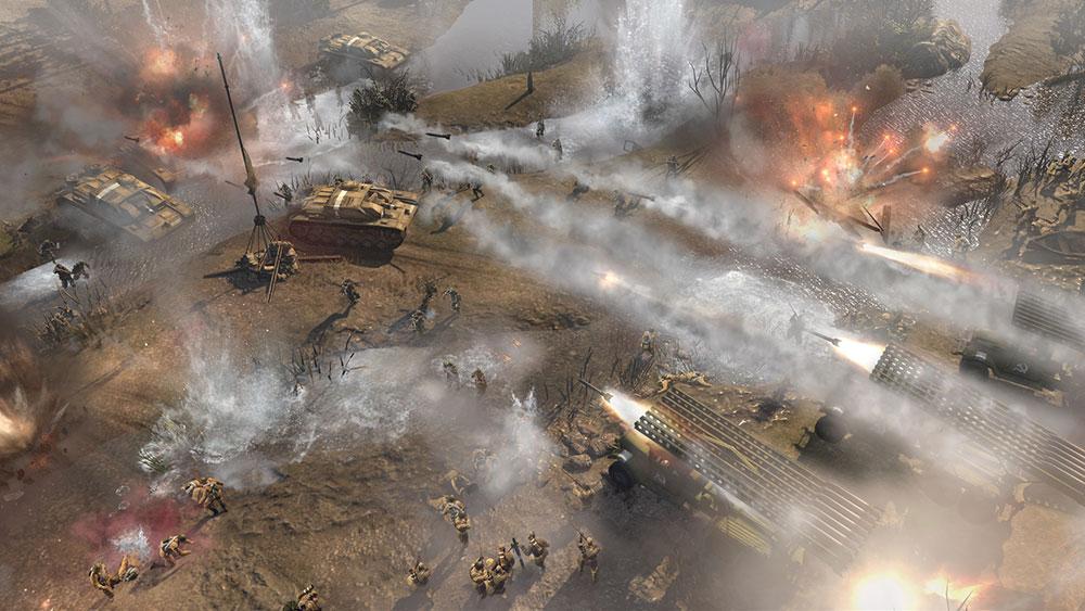Company of Heroes 2 игра война с компанией