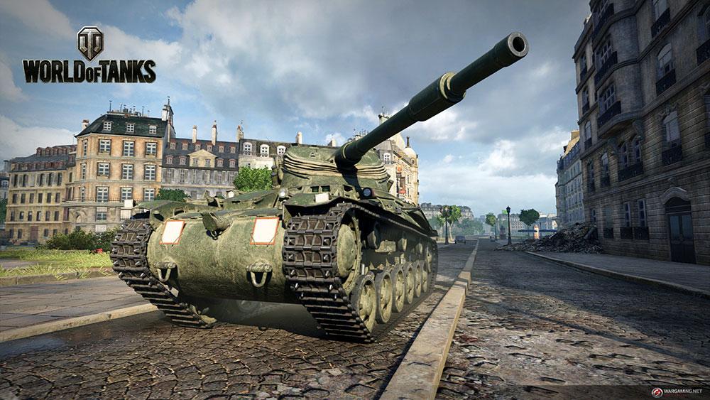 World of Tanks техника и сражения