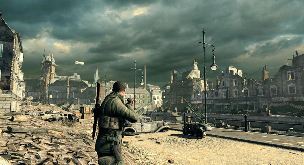 Sniper Elite фото игры снайпер