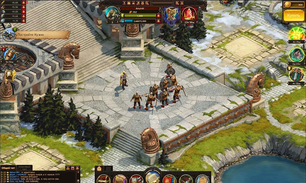 Vikings: War of Clans сеттинг