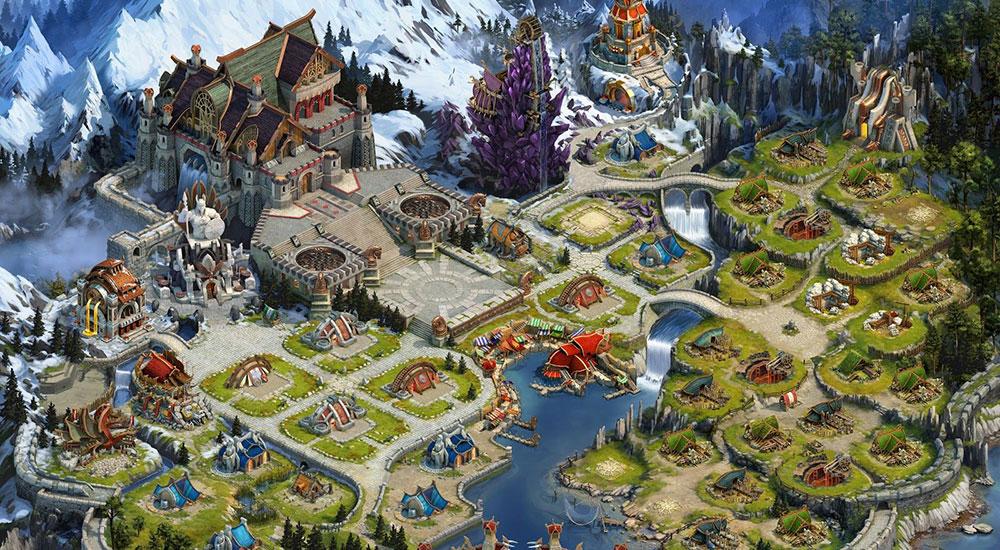 Vikings: War of Clans с тактикой