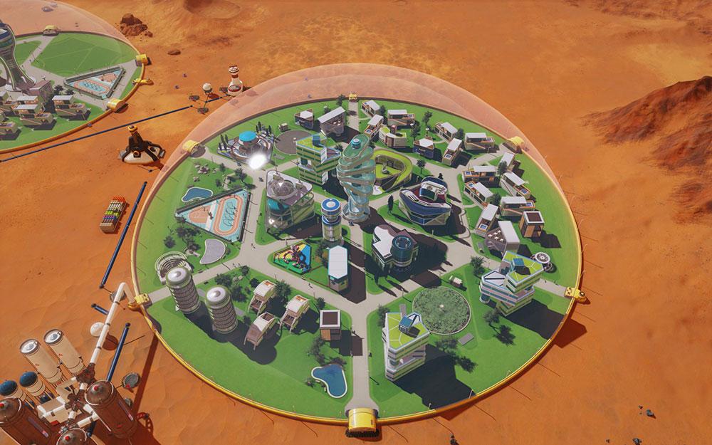 Surviving Mars симулятор марса