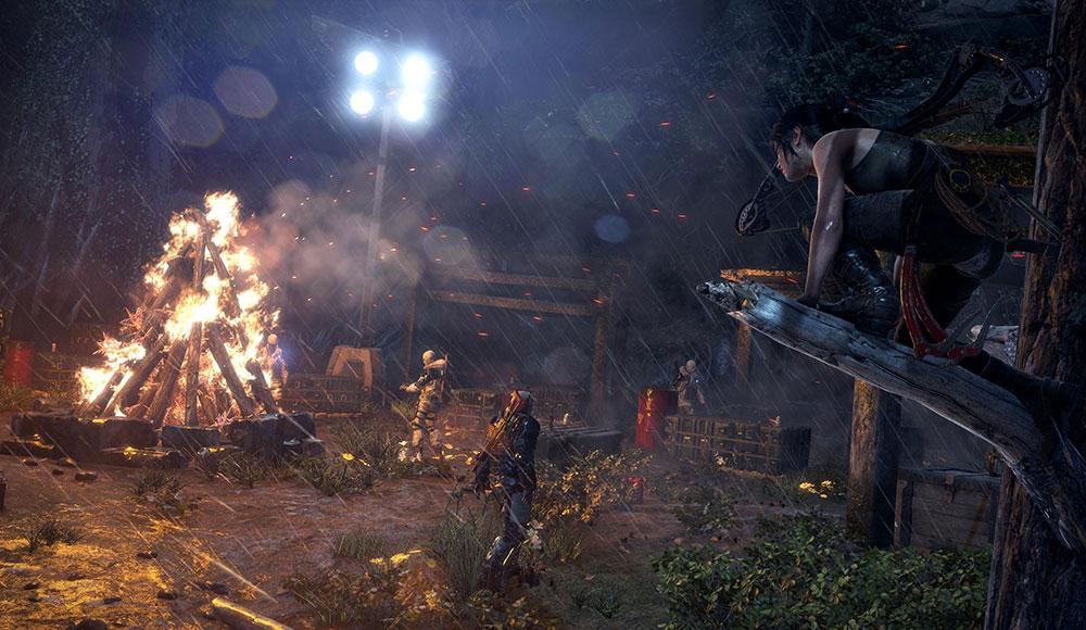 Rise of the Tomb Raider красивая игра