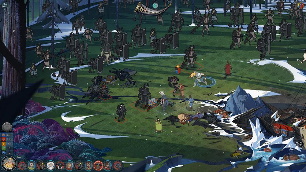 The Banner Saga фото игры на пк