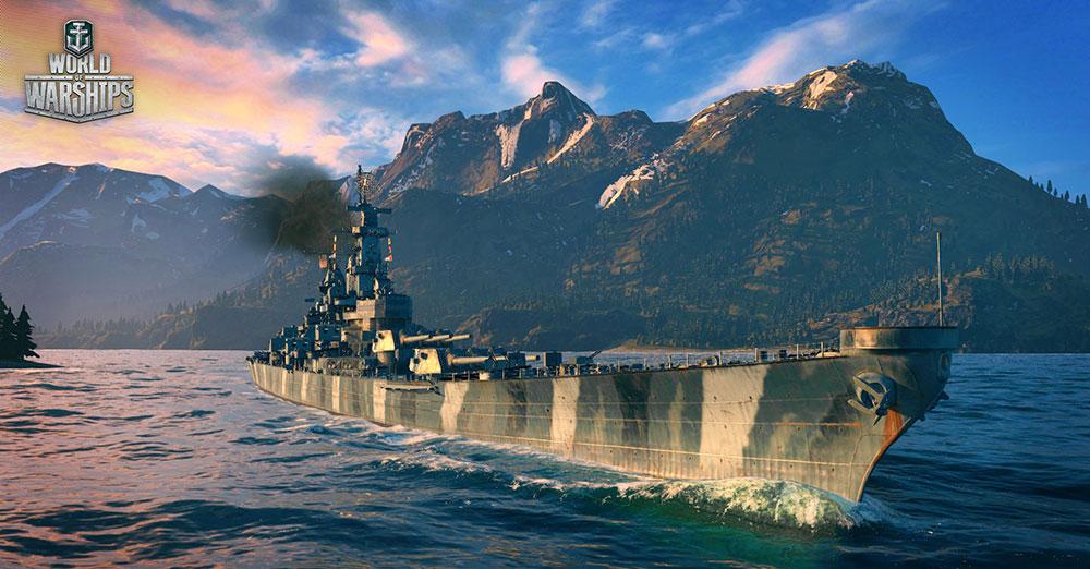 World of Warships фото судна