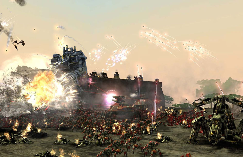 Supreme Commander игра с космосом
