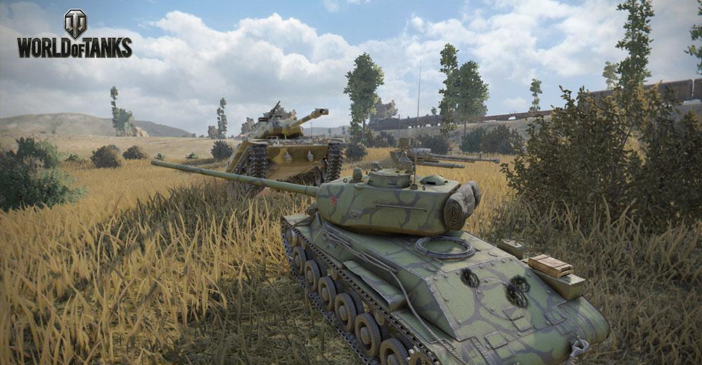 красивая игра танки