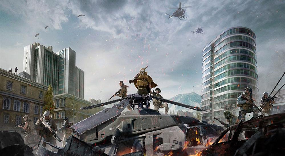 Call of Duty: Warzone королевская битва