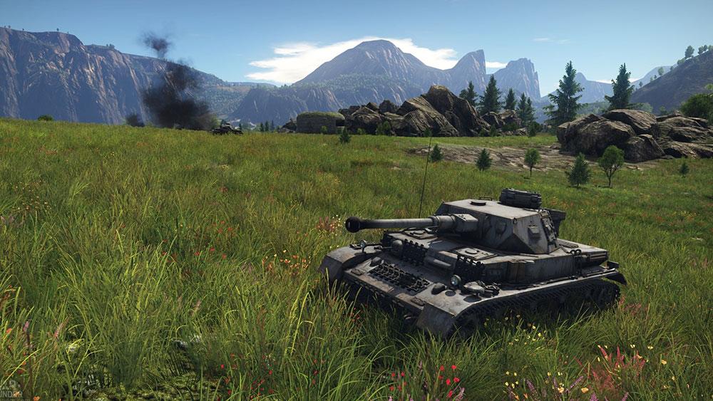 War thunder танк